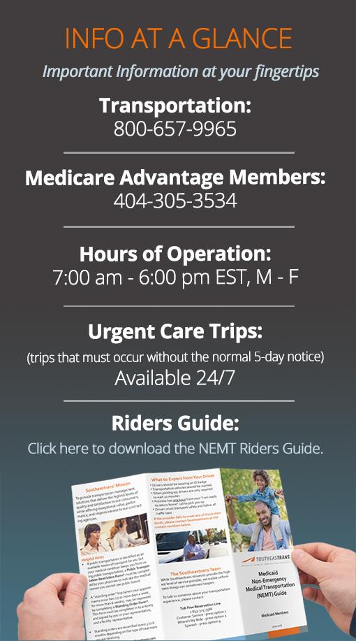 Georgia Peach State Health Members Info-at-a-glance