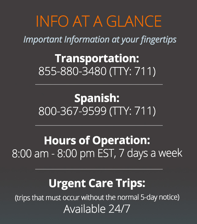 Virginia Premier Members – Medicaid Info-at-a-glance